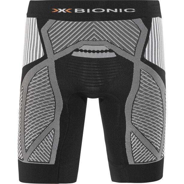 X-Bionic The Trick Running Pants Short Herr black/white