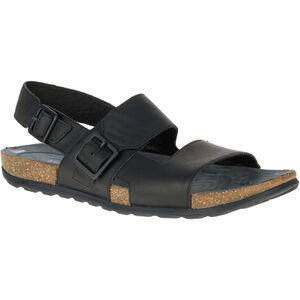 Merrell Downtown Backstrap Buckle Sandals Herr black black