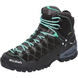 SALEWA Alp Trainer Mid GTX Shoes Dam black out/agata black out/agata