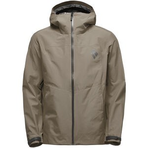 Black Diamond Liquid Point Shell Jacket Herr walnut walnut
