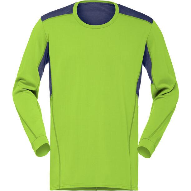 Norrøna Falketind Super Wool Shirt Herr birch green