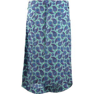 SKHoop Astrid Long Skirt Dam poolblue poolblue