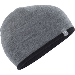 Icebreaker Pocket Hat black/gritstone heather black/gritstone heather