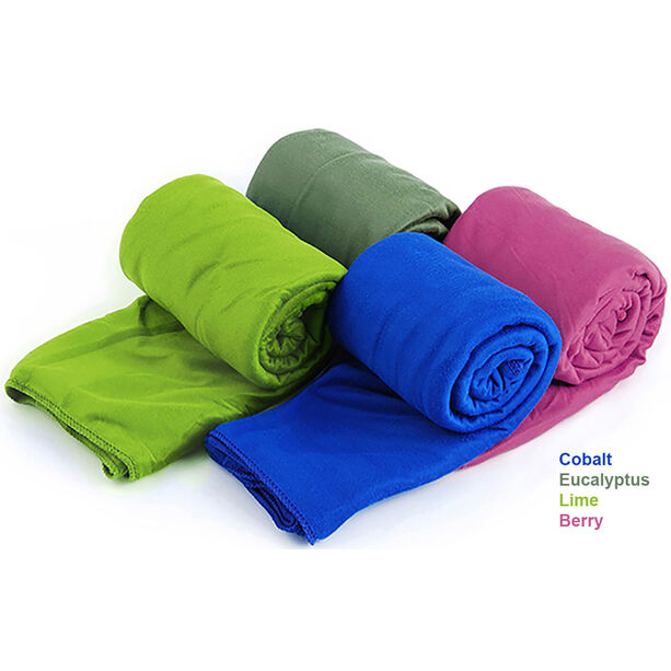 Sea to Summit Pocket Towel L eucalyptus green