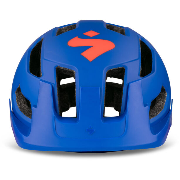 Sweet Protection Dissenter Helmet Barn matte race blue/cody orange