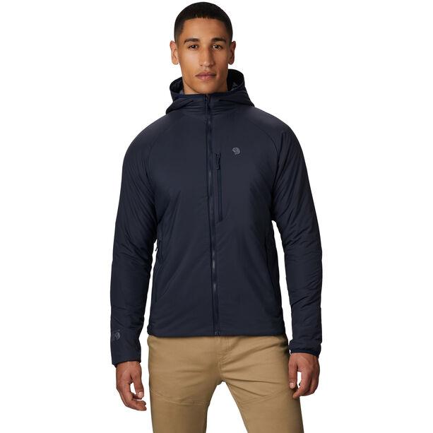 Mountain Hardwear Kor Strata Hooded Jacket Herr Dark Zinc