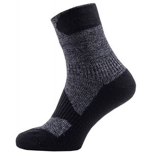 Sealskinz Walking Thin Ankle Socks dark grey/black dark grey/black