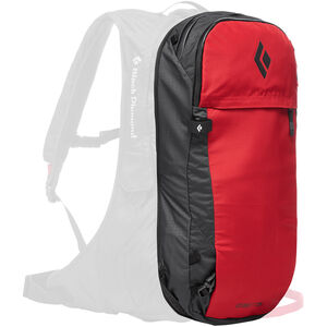 Black Diamond Jetforce Pro Booster Split Pack 25l Red Red