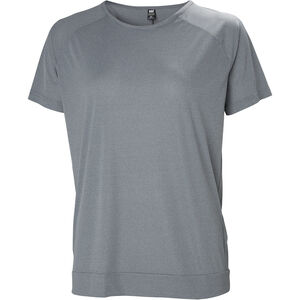 Helly Hansen HP Racing T-shirt Dam grey melange grey melange
