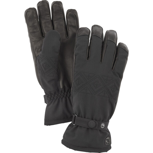 Hestra Swisswool Inverno Gloves Dam black