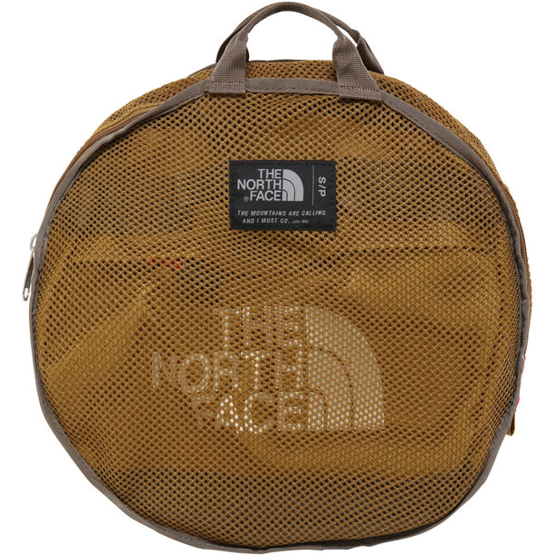The North Face Base Camp Duffel S British Khaki/Weimaraner Brown