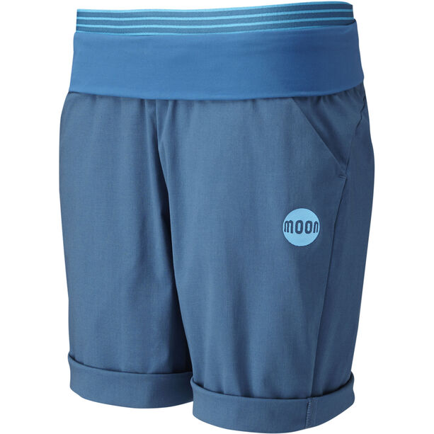 Moon Climbing Samurai Short Dam midnight blue