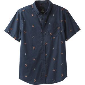 Prana Broderick Shortsleeve Shirt Slim Herr nautical nautical