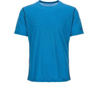 super.natural Base 140 T-shirt Herr vallarta blue/navy blazer vallarta blue/navy blazer