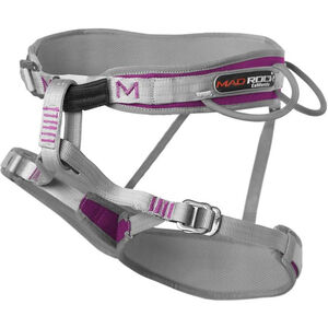 Mad Rock Venus Harness Dam grey grey