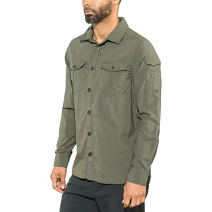 Craghoppers NosiLife Adventure II Long Sleeved Shirt Herr dark khaki dark khaki