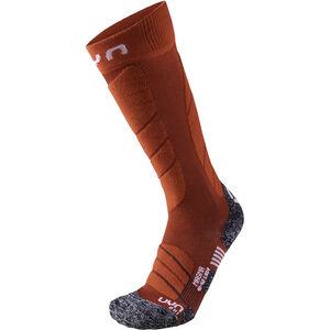 UYN Ski Magma Socks Dam dark red/red dark red/red