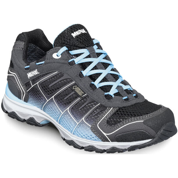 Meindl X-SO 30 GTX Shoes Dam black/turquoise