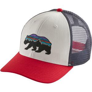 Patagonia Fitz Roy Bear Trucker Hat white white