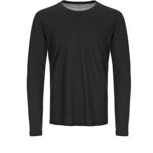 super.natural Base 140 Longsleeve Herr jet black jet black