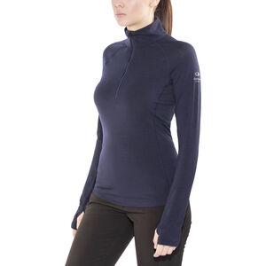 Icebreaker Zone LS Half Zip Shirt Dam midnight navy/largo midnight navy/largo