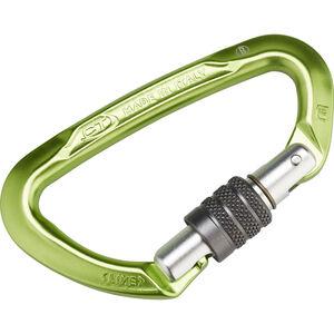 Climbing Technology Lime SG Carabiner green/grey green/grey
