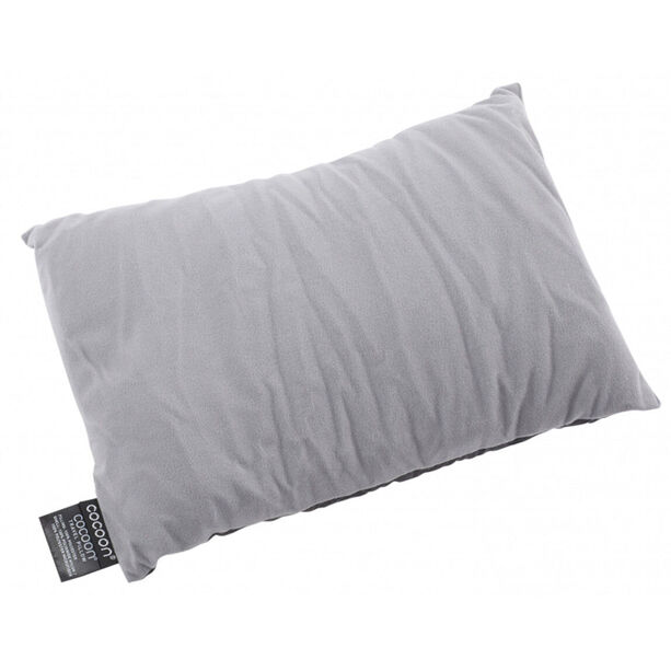 Cocoon Travel Pillow Nylon/Microfiber Large charcoal/smoke grey