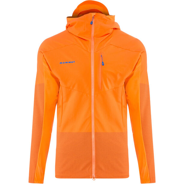 Mammut Eisfeld Light SO Hoody Herr sunrise