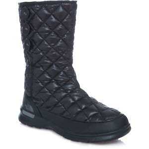 The North Face Thermoball Button-Up Boots Dam shiny tnf black/smokedpearl grey shiny tnf black/smokedpearl grey