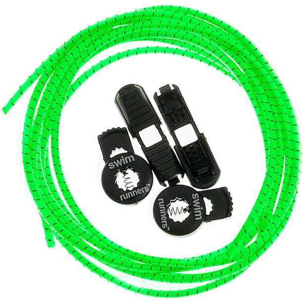 Swimrunners Laces 2x100cm neon green