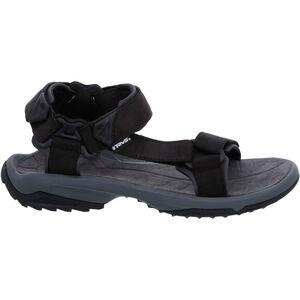 Teva Terra FI Lite Leather Sandals Herr black black