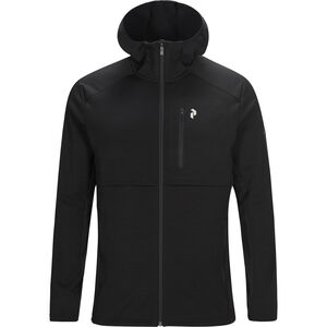 Peak Performance Helo Mid Hood Jacket Herr Black Black