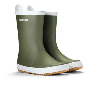 Tretorn Wings Rubber Boots Seagrass Seagrass