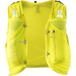 Salomon Adv Skin 5 Backpack Set Herr sulphur spring/citronelle sulphur spring/citronelle