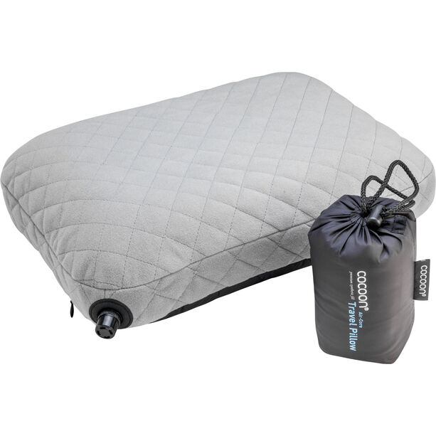Cocoon Air Core Pillow charcoal/smoke grey