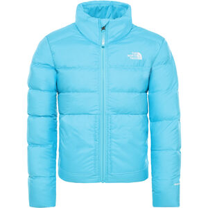The North Face Andes Down Jacket Flickor Turquoise Blue Turquoise Blue