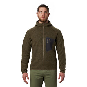 Mountain Hardwear Hatcher Full Zip Hoody Jacket Herr Darklands Darklands
