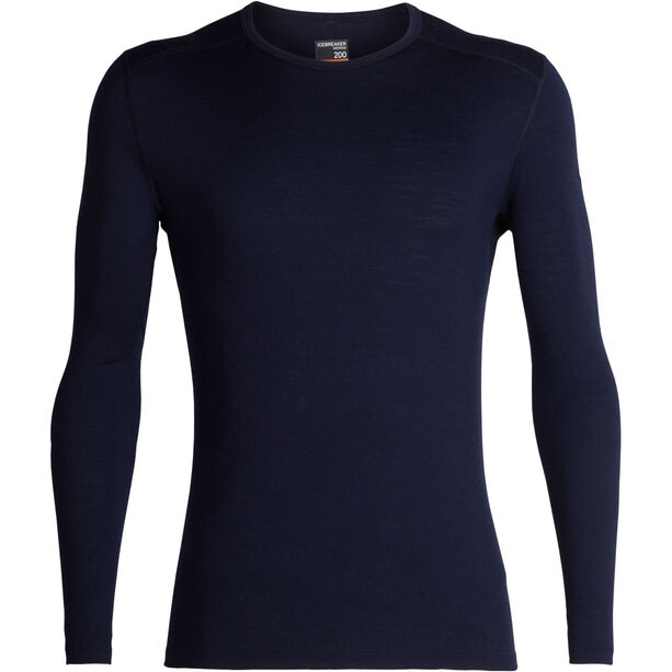 Icebreaker 200 Oasis LS Crewe Shirt Herr midnight navy