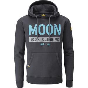 Moon Climbing One Five Nine Hoody Herr ebony ebony