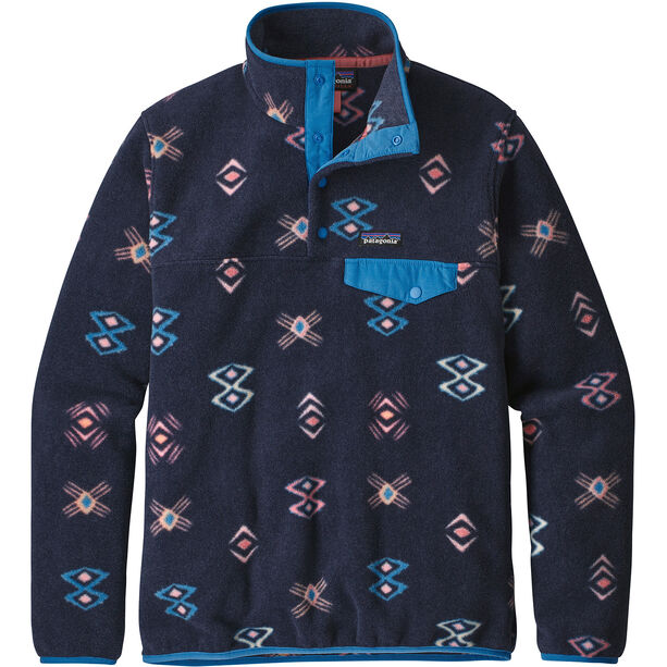 Patagonia LW Synch Snap-T Pullover Dam space spirits/neo navy