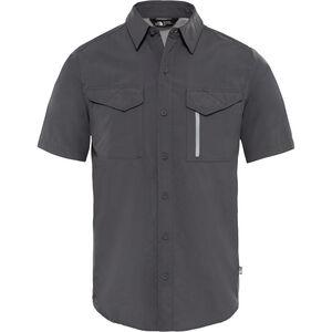 The North Face Sequoia S/S Shirt Herr asphalt grey/mid grey asphalt grey/mid grey