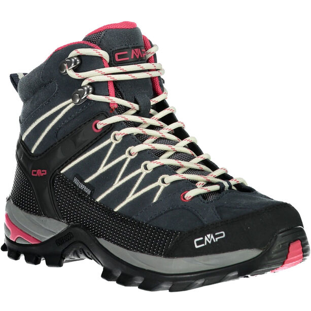 CMP Campagnolo Rigel Mid WP Trekking Shoes Dam antracite-off white