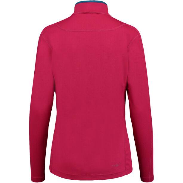 Kaikkialla Eveliina Zipp Shirt 1/1 Dam fuchsia