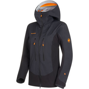 Mammut Eisfeld Guide SO Hooded Jacket Dam Black Black