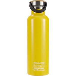 360° degrees Vacuum Insulated Drink Bottle 750ml yellow yellow