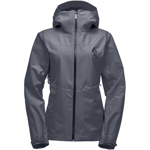Black Diamond Liquid Point Shell Jacket Dam carbon carbon