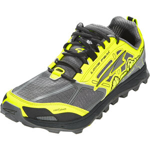 Altra Lone Peak 4 Running Shoes Herr gray/yellow gray/yellow