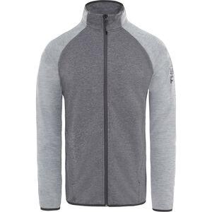 The North Face Ondras II Jacket Herr tnf black heather/mid grey heather tnf black heather/mid grey heather