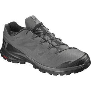 Salomon OUTpath GTX Shoes Herr magnet/black/black magnet/black/black