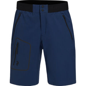 Peak Performance Ligth Softshell Shorts Herr thermal blue thermal blue